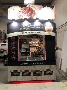 Doddington Dairy ice cream carts