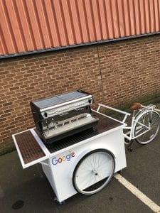 Google Coffee Bike